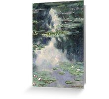 Claude Monet - Pond with Water Lilies (1907) Greeting Card