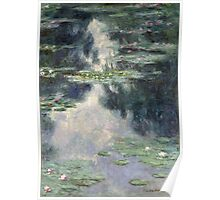 Claude Monet - Pond with Water Lilies (1907) Poster