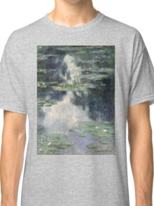 Claude Monet - Pond with Water Lilies (1907)  Impressionism Classic T-Shirt