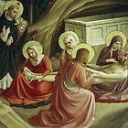 Fra Angelico, Deposition of Jesus in a cell of San Marco Monastery Florence Italy 19840714 0015 by Fred Mitchell