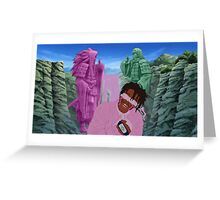 father shippuden Greeting Card
