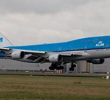 KLM 747 Schiphol by vdgun