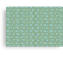 Blossom pattern Canvas Print