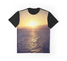 Sunset over the horizon Graphic T-Shirt