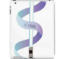 The Force is Strong with this One iPad Case/Skin