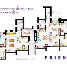 FRIENDS Apartment's Floorplans - V.2 by Iñaki Aliste Lizarralde