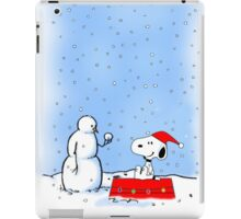 snoopy snowy iPad Case/Skin