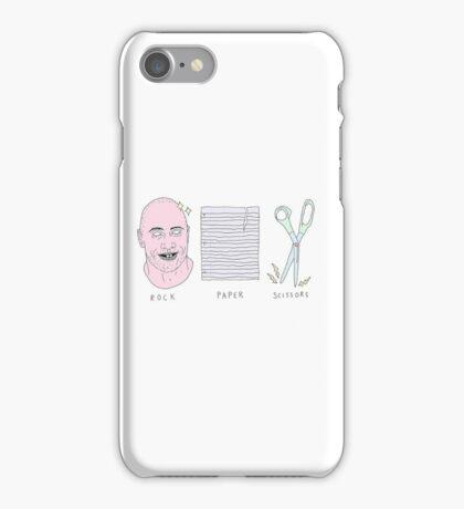 Dwayne the Rock, Paper, Scissors  iPhone Case/Skin