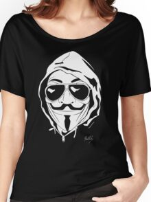 Vendetta Shades Logo Black-T Women's Relaxed Fit T-Shirt
