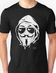 Vendetta Shades Logo Black-T Unisex T-Shirt