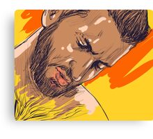 Thinking of that moment Canvas Print