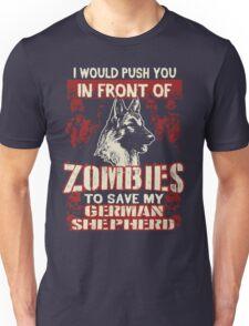 German Shepherd Dog-Zombies Unisex T-Shirt