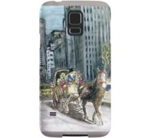 5th Avenue Ride - New York Painting Samsung Galaxy Case/Skin