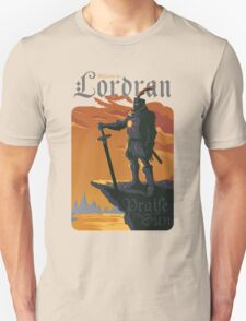 Welcome to Lordran Unisex T-Shirt