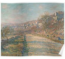 Claude Monet - Road of La Roche-Guyon (1880) Poster