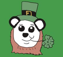 Cartoon Panda leprechaun  by Rajee