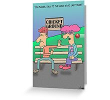 Funny Marriage Cartoon Greeting Card