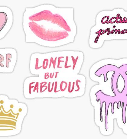 Girly Tumblr 2 Sticker