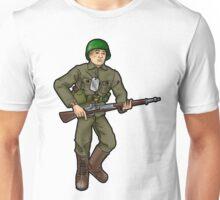 Don't Call Him a Doll. Unisex T-Shirt