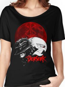Guts and Griffith from Berserk Women's Relaxed Fit T-Shirt