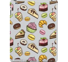 Sweet bakery and pastry iPad Case/Skin