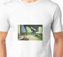 Don't forget to send a postcard! Unisex T-Shirt