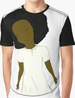 """African American Girl from the """"Five Birds on a Wire"""" book (Kids & Baby Tees+Onesies) Graphic T-Shirt"""