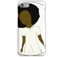 "African American Girl from the ""Five Birds on a Wire"" book (Kids & Baby Tees+Onesies) iPhone Case/Skin"