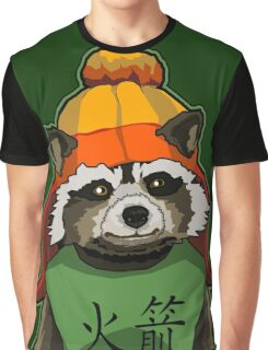 Raccoon finds Serenity Graphic T-Shirt