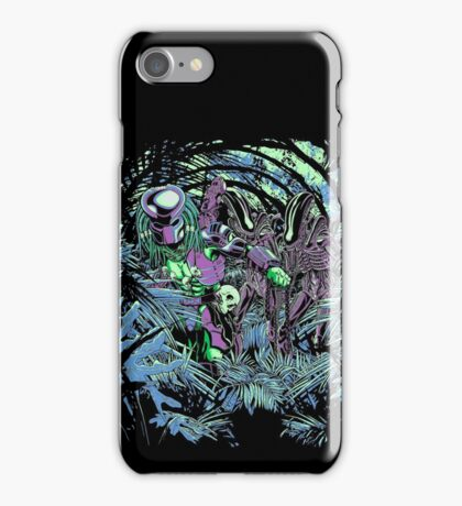 Welcome to the jungle. (neon) iPhone Case/Skin