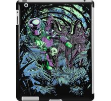 Welcome to the jungle. (neon) iPad Case/Skin