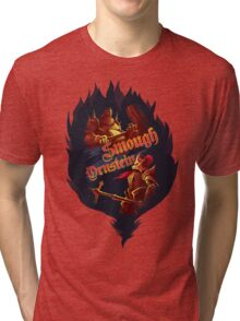 Dragon Slayer Ornstein and Executioner Smough Tri-blend T-Shirt