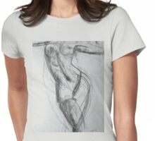 Muse, Sandra Falga Womens Fitted T-Shirt