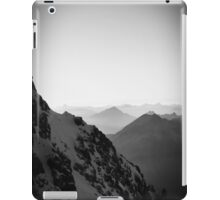 Zugspitze Germany Alps Mountain Black and White iPad Case/Skin