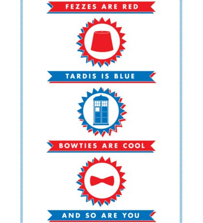 Doctor Who Valentines Sticker