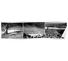 Shepton Mallet Triptych Poster