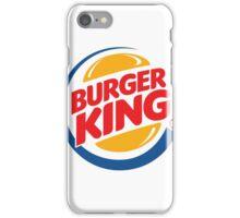Burger King Logo iPhone Case/Skin