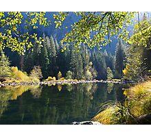 Yosemite Reflections, California Photographic Print