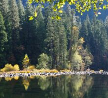 Yosemite Reflections, California Sticker