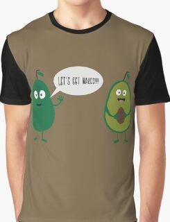 crazy avocado undresses  Graphic T-Shirt