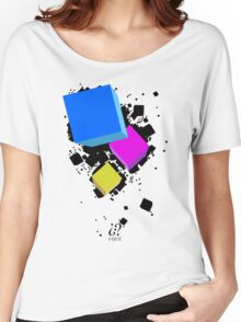 Pixelated Women's Relaxed Fit T-Shirt