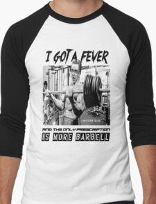Christopher Bulken - More Barbell Men's Baseball ¾ T-Shirt