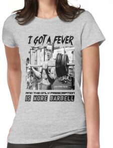 Christopher Bulken - More Barbell Womens Fitted T-Shirt