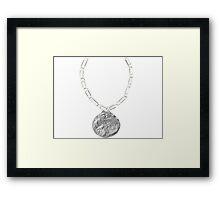 Dunder Mifflin Office Olympics-Silver Medal Framed Print