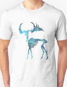 Irish Elk, Irish giant deer, Megaloceros giganteus, Irish Deer Art, Deer Skeleton, Deer Bones, Deer Skull, Deer skeletons T-Shirt