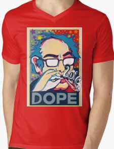 BERNIE IS DOPE  Mens V-Neck T-Shirt