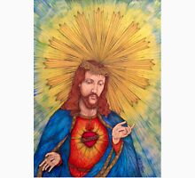 Sacred Heart Of Jesus Christ Drawing Unisex T-Shirt