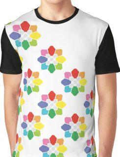 Rainbow Badge Graphic T-Shirt