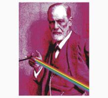 Pink Freud Sigmund One Piece - Short Sleeve