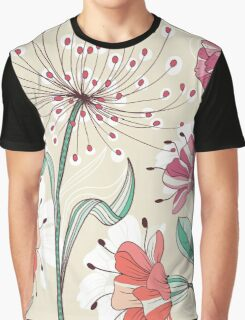 Floral Pattern #42  Graphic T-Shirt